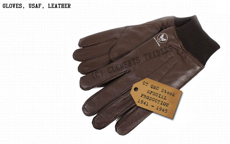 Gloves, USAF, Leather
