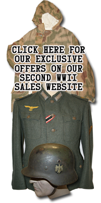 Clements Trading © - Online WWII Warehouse & Webshop