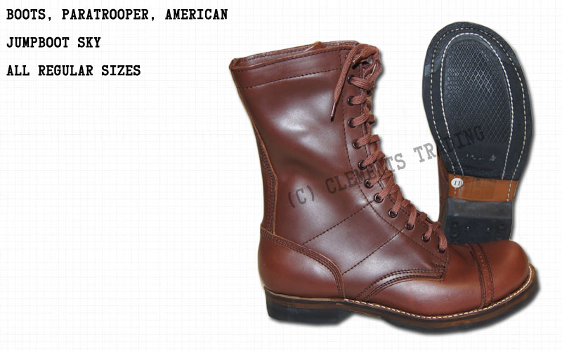 Boots, Paratrooper, Sky, American