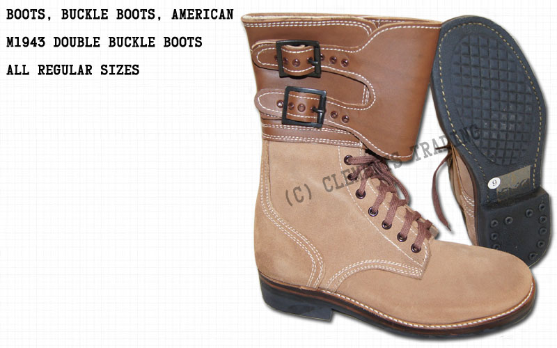 Boots, Buckleboots, American