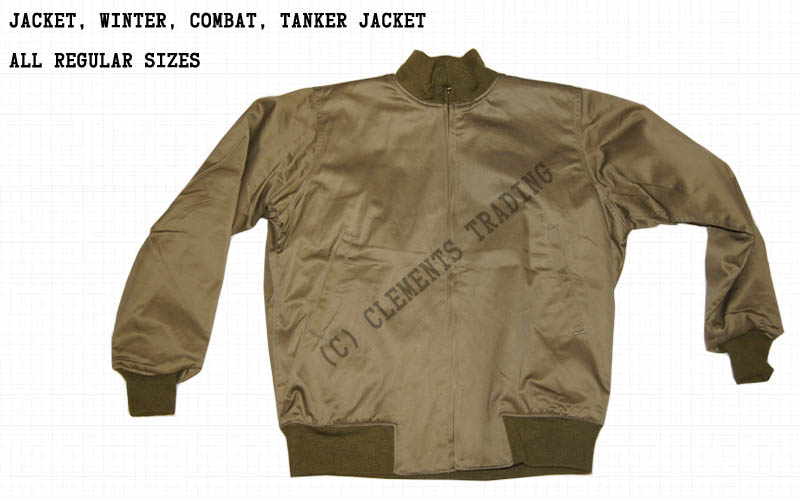 Jacket, Winter, Combat, Tanker Jacket