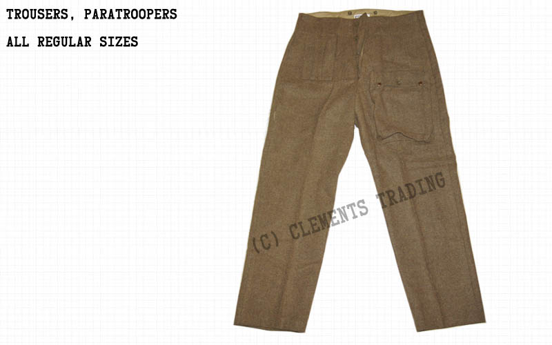 Trousers, Paratroopers