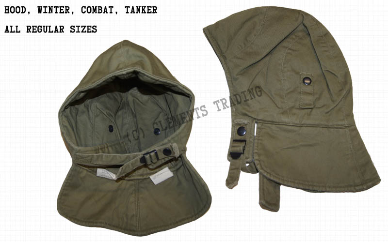 Hood, Winter, Combat, Tanker