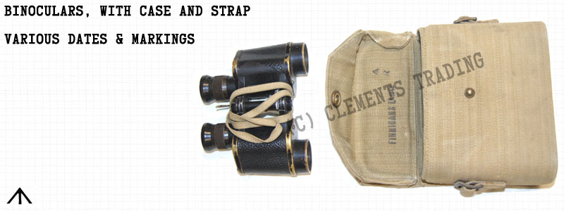 Binoculars, with Case