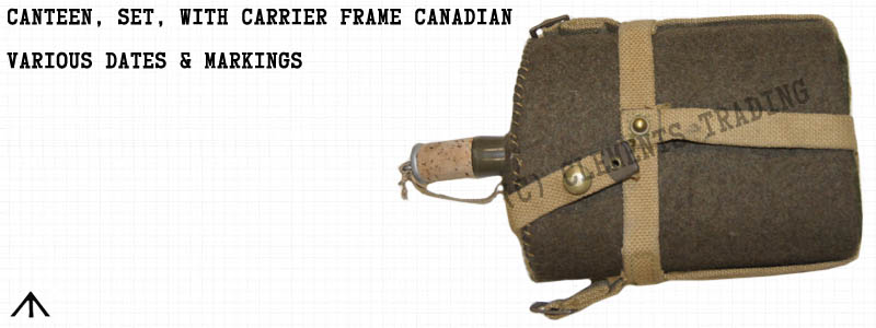 Canteen, Set, with Carrier, Canadian
