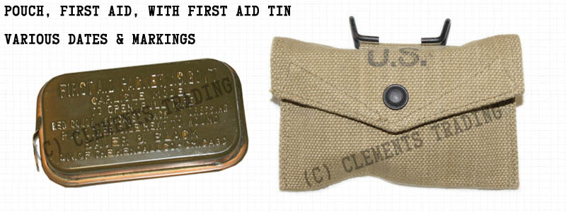Pouch, First Aid, with First Aid Tin